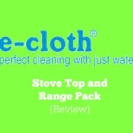 E-Cloth Range and Stovetop {Review}