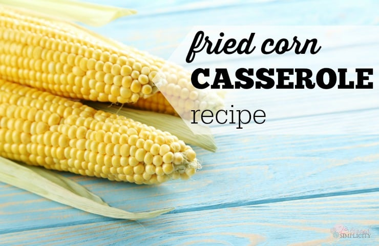 The perfect corn casserole for holidays like Thanksgiving and Christmas or any potluck dinner occasion.