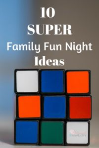 WOW! Great ideas! Can't wait to plan our next family fun night!