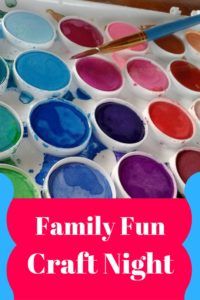 Amazing Idea for a Family Craft Night! Can't wait to try this one!