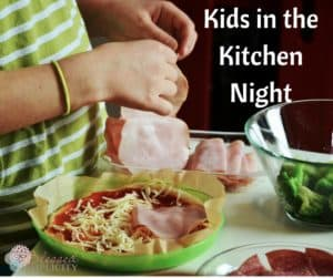 Amazing Kids in the Kitchen Family Night Idea! Love this idea! Thanks for pinning.