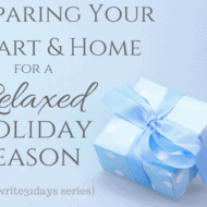 Preparing for a Relaxed Holiday Season