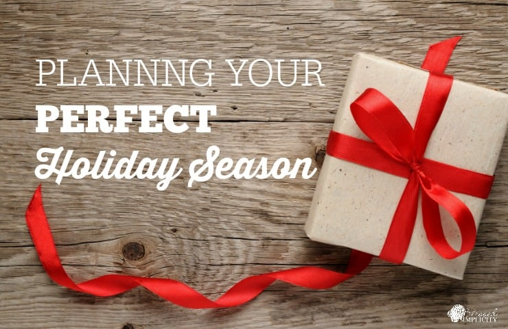 Plan your perfect holiday season with these free printable journaling pages!