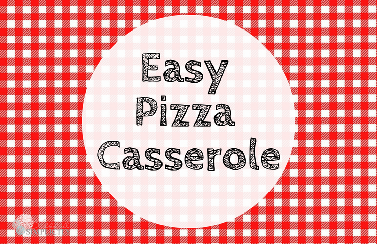 Easy kid friendly pizza casserole is great for weeknight dinners! Make them in bulk and pull out for a potluck meal. It even has gluten free options.