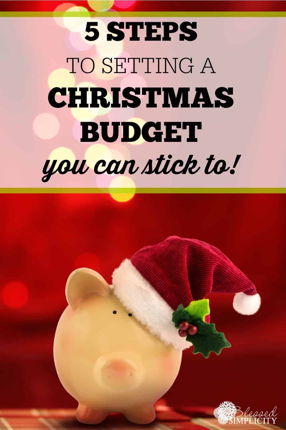 Free printable christmas budget worksheets! Set your chistmas budget and stick to it!
