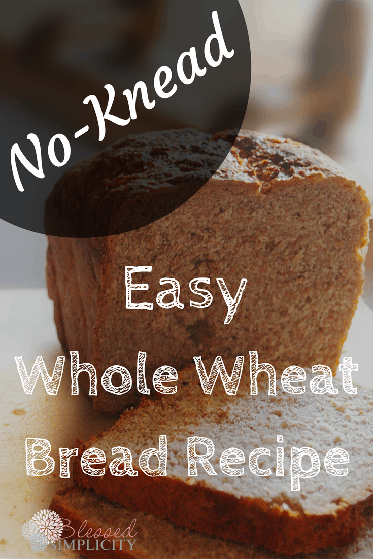 This great tasting whole wheat bread recipe is simple and easy to make. Great for sandwiches.