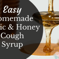 Easy Homemade Cough Syrup