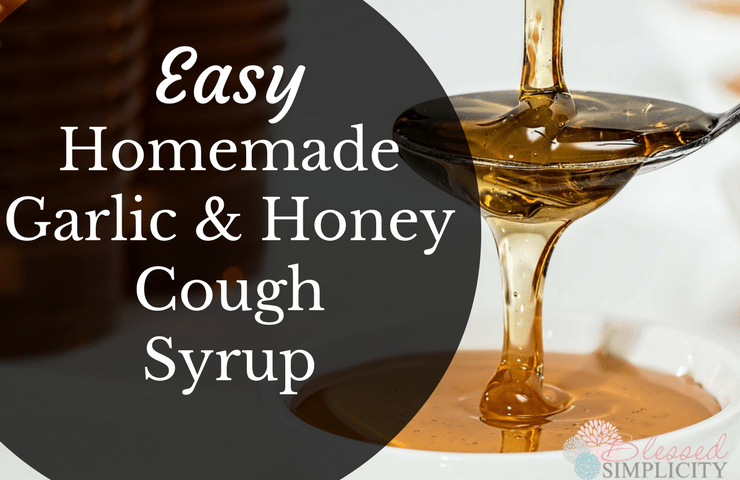 This easy homemade cough syrup will quiet a night time cough so everyone can rest. The honey makes it kid friendly.