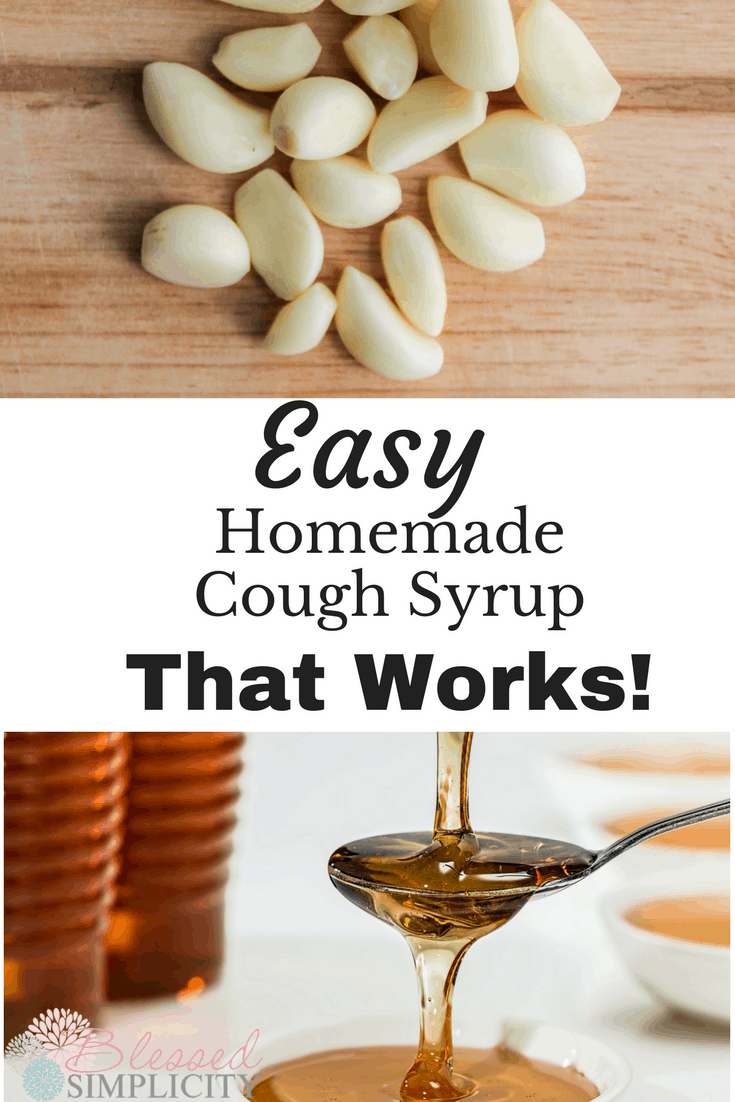 This easy homemade cough syrup quiets a cough quickly and is kid friendly.