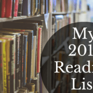 My 2017 Reading List