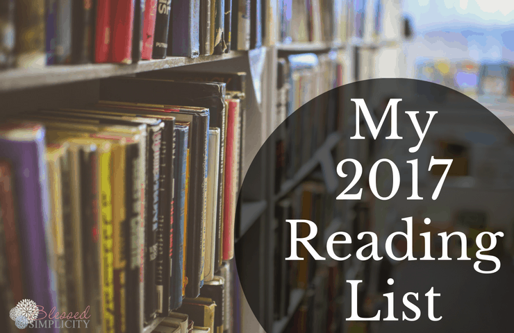 I am so excited about this reading list for 2017. It has lots of books for where I am in motherhood and business.