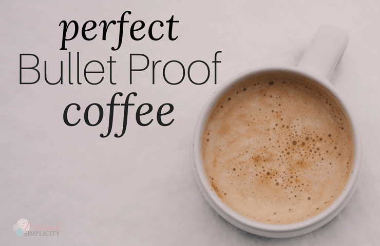 This bullet proof coffee recipe is perfect! Tastes great and provides a boost of energy. Perfect for a ketogenic diet!