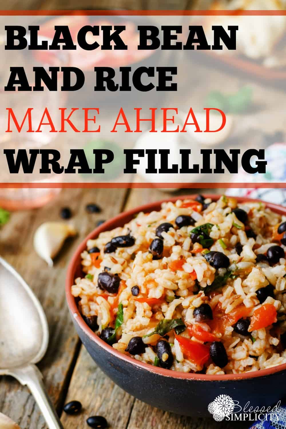 This black beans and rice wrap filling is inexpensive and easy to prepare. It is also a meal that can also be prepared completely oven free. Healthy and nutritious for the kids to eat by the pool in the summertime!