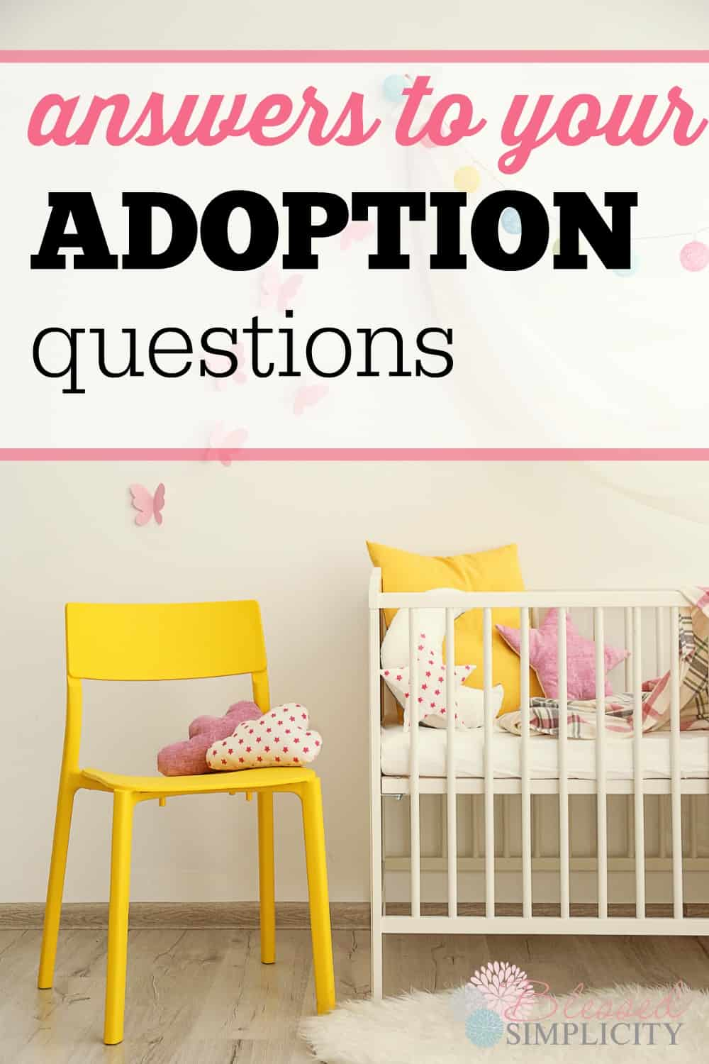 How to adopt a child.  Good explanation of the avenues of adoption.