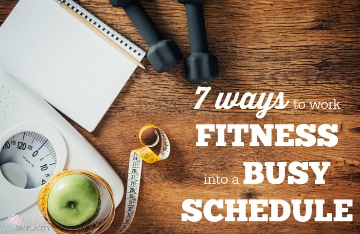 Finding time for fitness is difficult for busy moms. But fitness is super important self care for moms. These are great ways to work it in.
