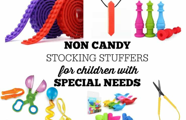 Non Candy Stocking Stuffers for Kids with Special Needs