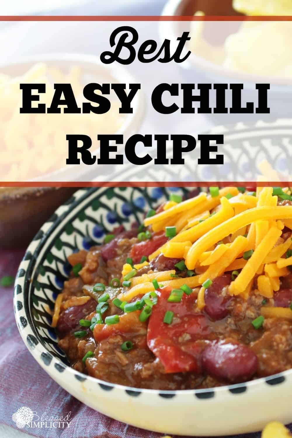 Easy chili for a crowd for Easy tailgating recipes for a crowd