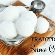Easy Snow Cream Recipe
