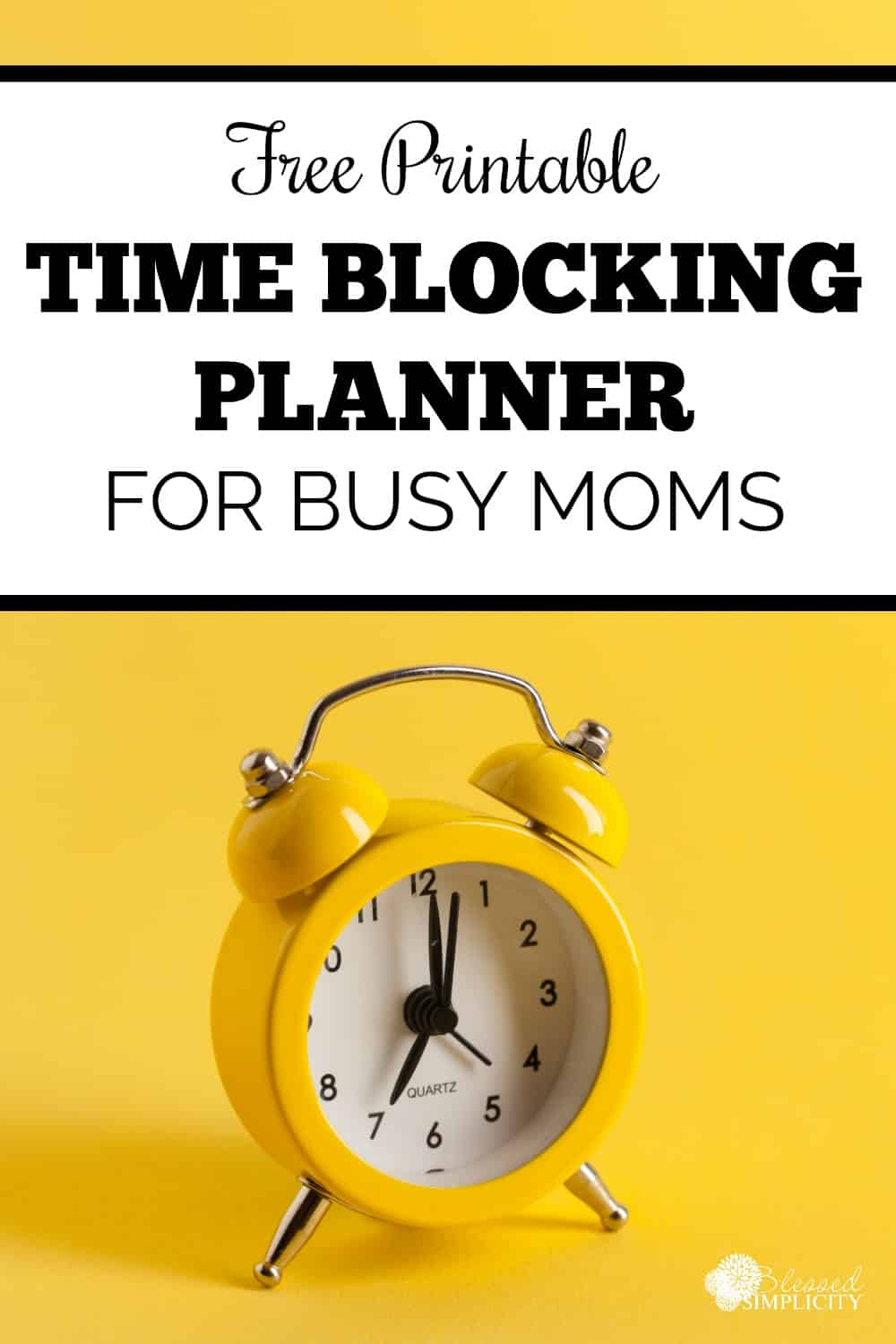 I love this time blocking template! I use it for myself as well as my children. Time blocking has made my mom schedule more manageable.