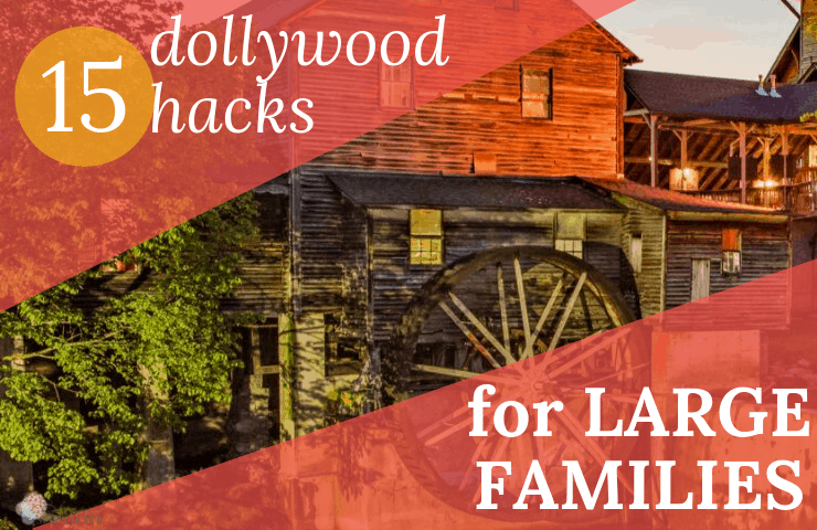 Dollywood Hacks for the Large Family - Blessed Simplicity