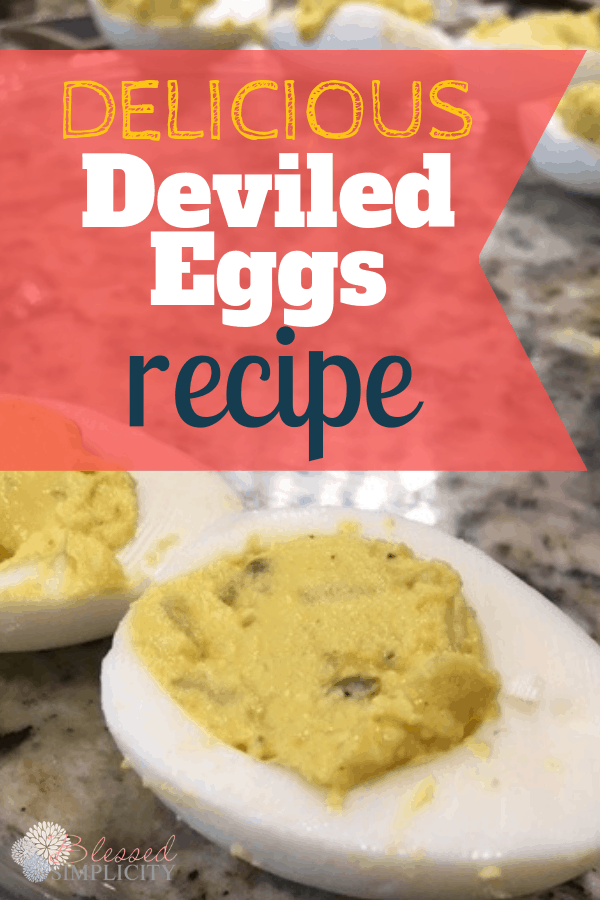 Easy Delicious Deviled Eggs Recipe Blessed Simplicity